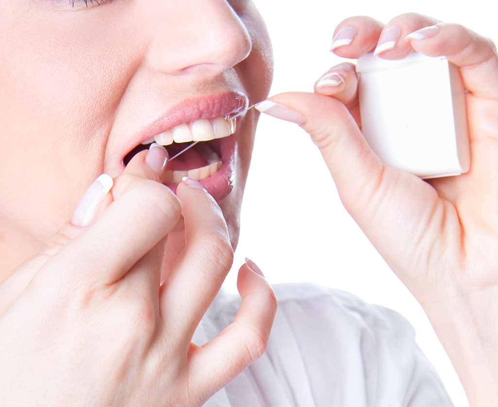 The Benefits of Dental Flossing Photo