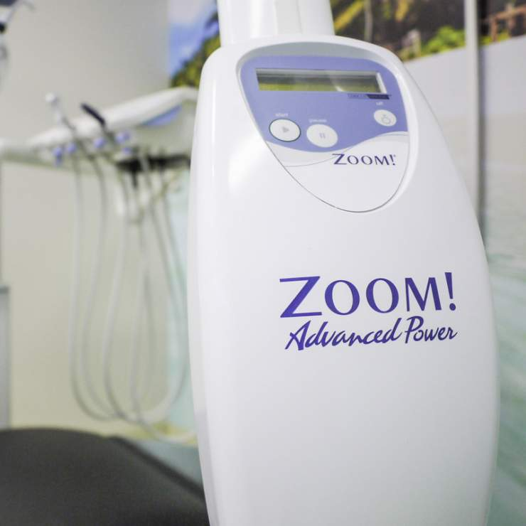 We provide the Zoom whitening service